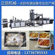 买无纺布水果袋制袋机到温州正信机械 专业生产厂家