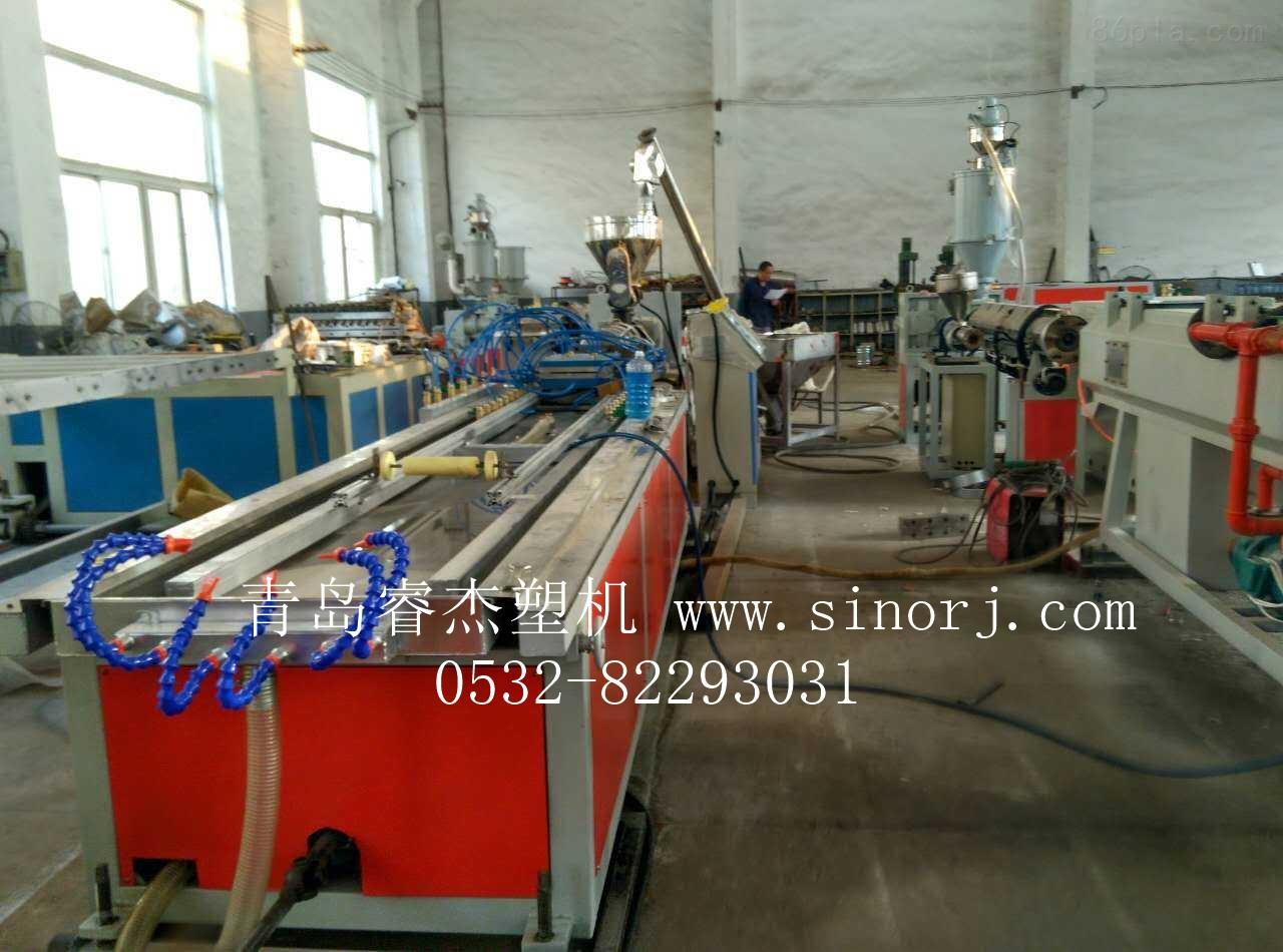 pvc木塑长城板设备 生态木长城板生产线