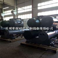 长期供应电镀厂专用70匹低温螺杆式冻水机组 -5度