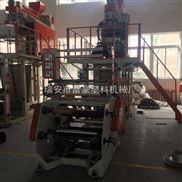 供应PP聚丙水冷吹膜机 55型单层pp吹膜机