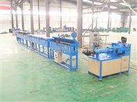 硅三件防御仙器胶电缆挤出机生产线、硅胶挤出机