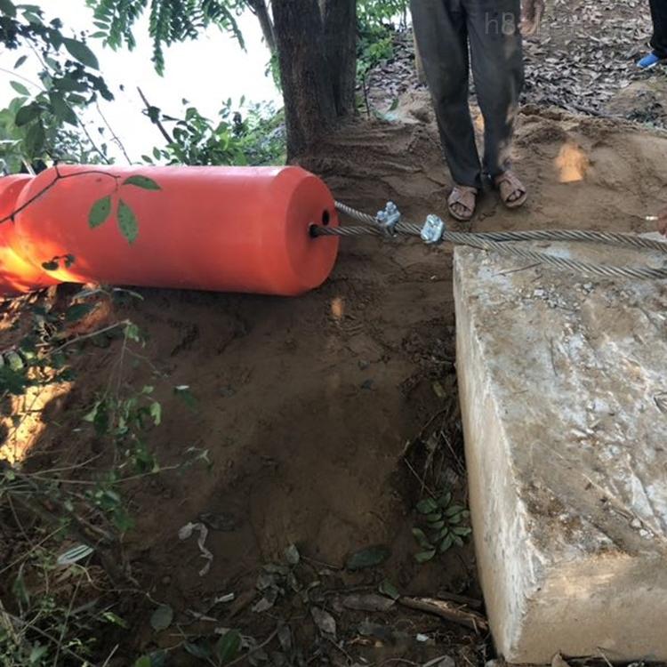 饮用水库垃圾拦截设施圆桶形拦污浮排