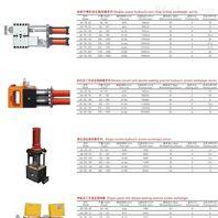 双柱双工位液压换网器系列