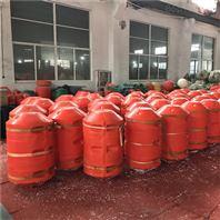 鹽井河水庫自浮式攔污漂攔垃圾浮筒安裝