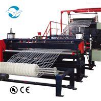 塑料網土工網方格圍欄網生產線