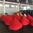 浅水区禁航浮标红色警示浮筒加工厂家
