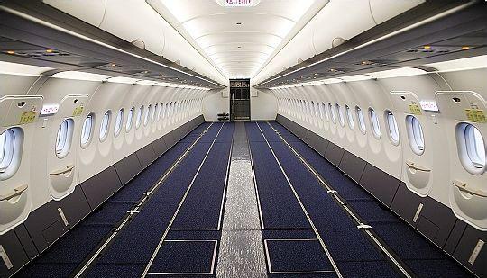 复合材料在飞机上的应用规模和水平不足