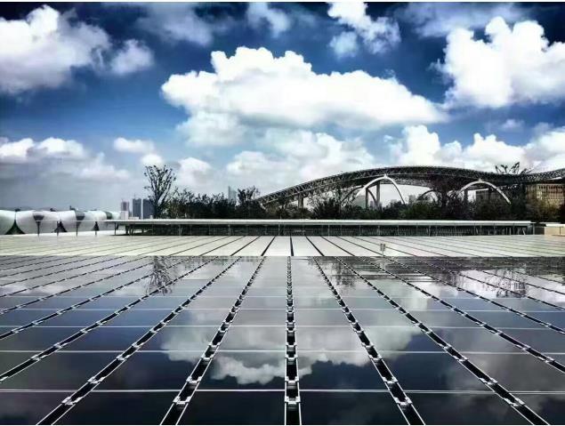 汉能薄膜太阳能组件上了g20峰会主会场楼顶